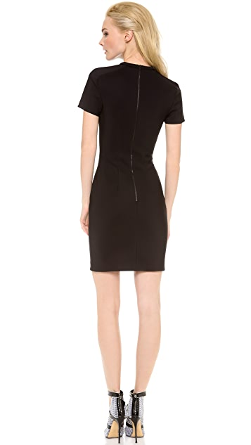 Dion Lee Scuba Lace Dress