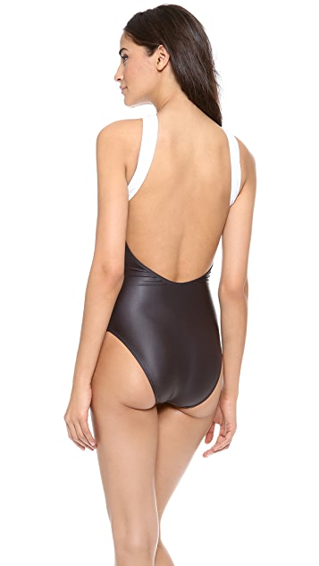 Dion Lee Print Purity One Piece Swimsuit