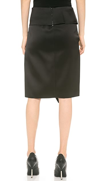 Dion Lee Belted Wrap Skirt