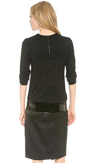 Dion Lee Thermal Jersey Long Sleeve Top