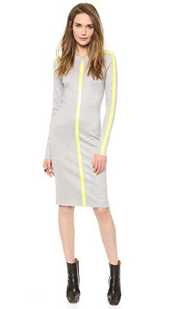Dion Lee Linear Long Sleeve Dress
