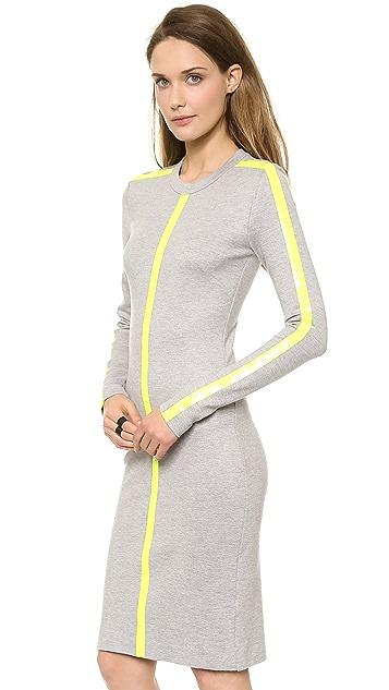 Dion Lee Linear Long Sleeve Dress
