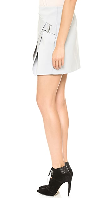 Dion Lee Saddle Envelope Miniskirt