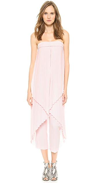 Dion Lee Broken Pleat Elongated Top