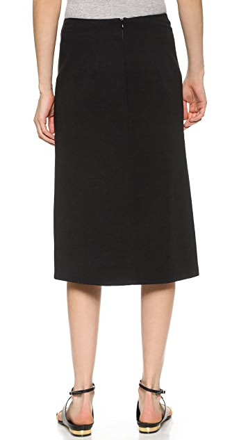 Dion Lee Lenticular Pleated Skirt