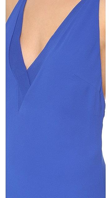 Line II Sheer Fine Line Cami Dress