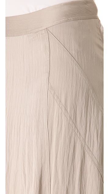 Donna Karan New York Floor Length Gored Skirt