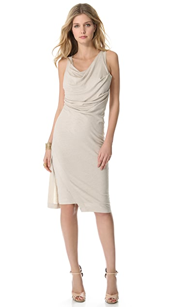 Donna Karan New York Double Layered Tank Dress