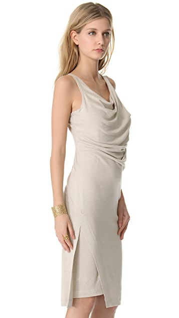 Donna Karan New York Double Layered Tank Dress