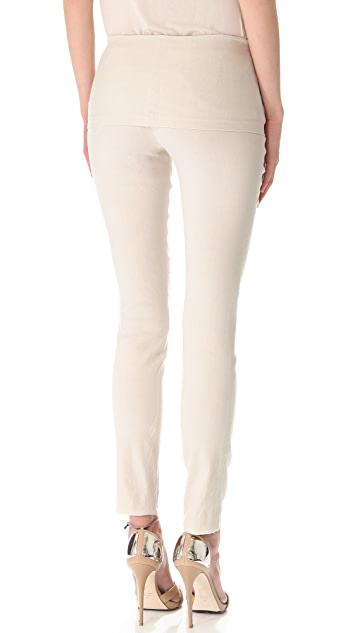 Donna Karan New York Fold Over Tube Pants