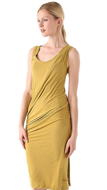 Donna Karan New York Draped Foundation Dress
