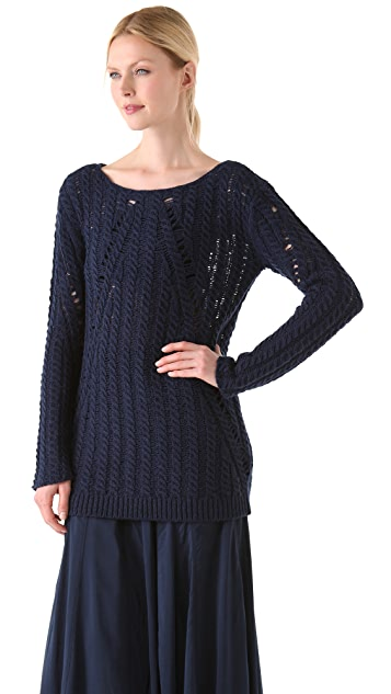 Donna Karan New York Long Sleeve Top