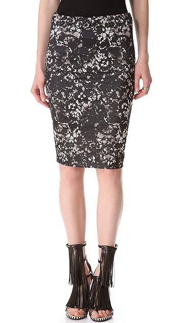 Donna Karan New York Fold Over Tube Skirt
