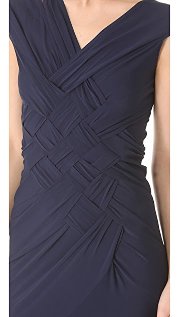 Donna Karan New York Banded Gown