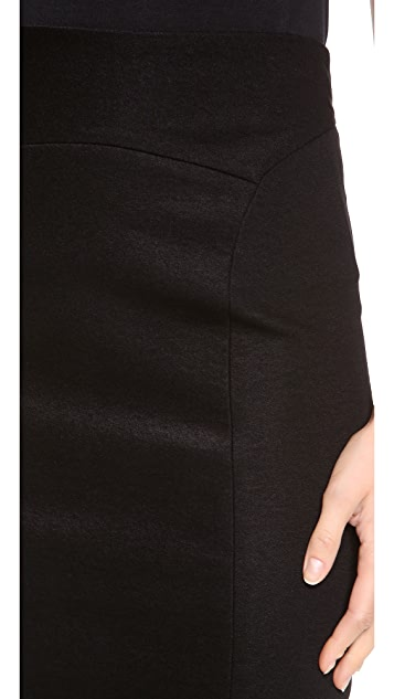 Donna Karan New York High Waisted Slim Skirt
