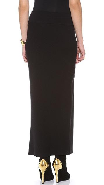 Donna Karan New York Satin Skirt