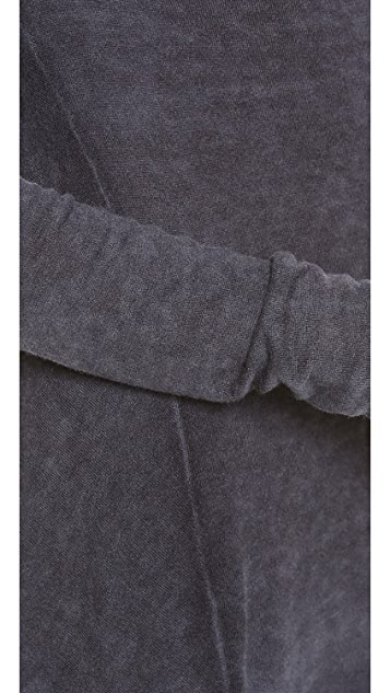 Donna Karan New York Cashmere Drape Front Sweater
