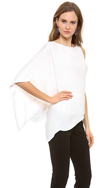 Donna Karan New York Asymmetrical Top