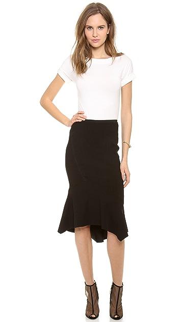Donna Karan New York Trumpet Skirt
