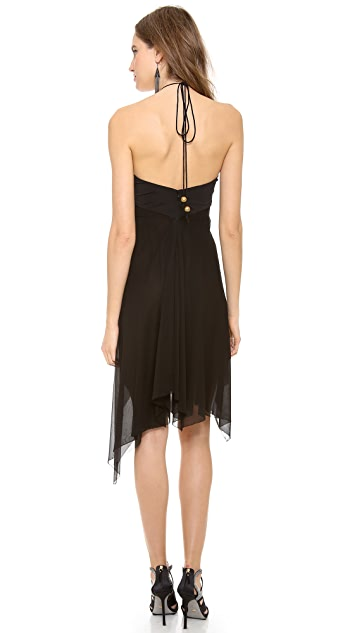 Donna Karan New York Halter Dress