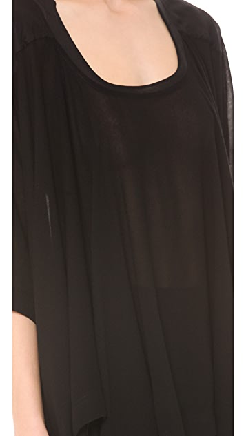 Donna Karan New York Three Quarter Sleeve Tunic