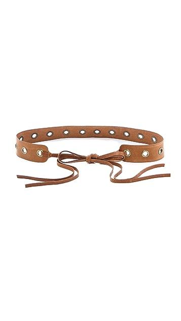 Donna Karan New York Tie Belt