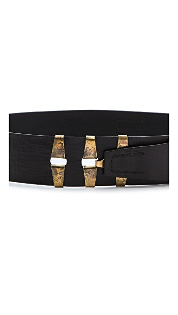Donna Karan New York Leather Belt