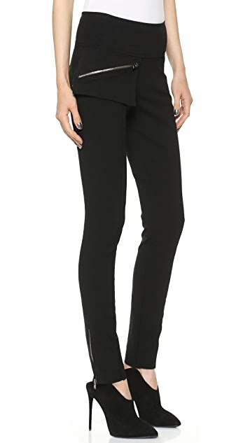 Donna Karan New York Ankle Zip Slim Pants