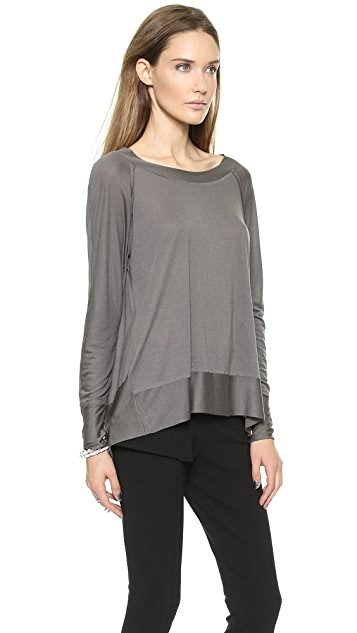 Donna Karan New York Long Sleeve Easy Top