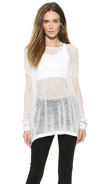 Donna Karan New York Easy Open Knit Pullover