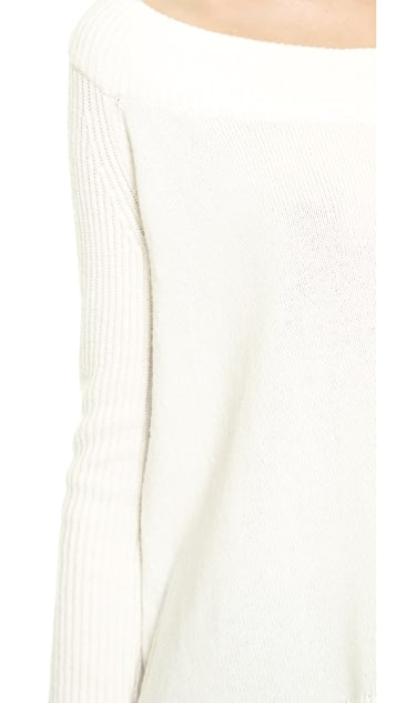 Donna Karan New York Easy Cropped Pullover