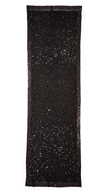 Donna Karan New York Cashmere Sequins Scarf