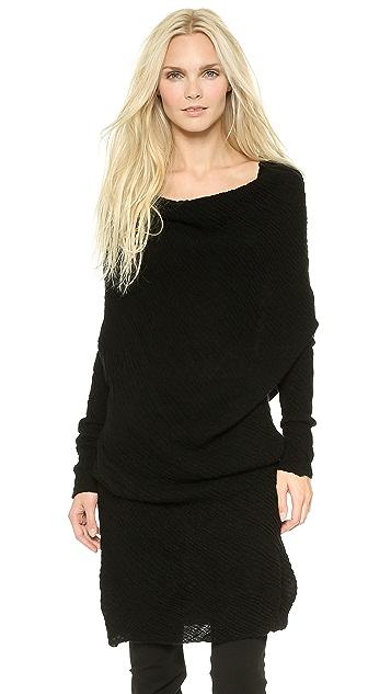 Donna Karan New York Off the Shoulder Tunic