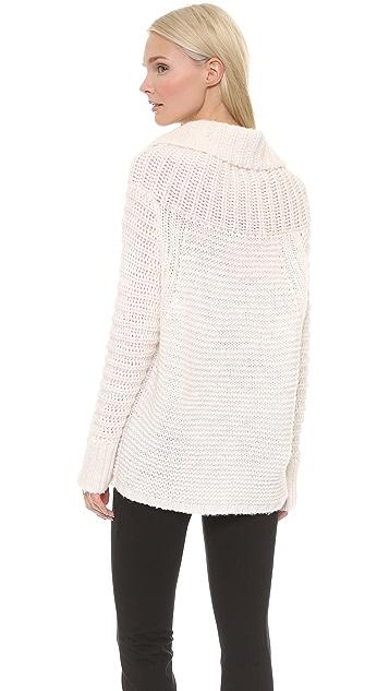 Donna Karan New York Oversized Cowl Neck Sweater