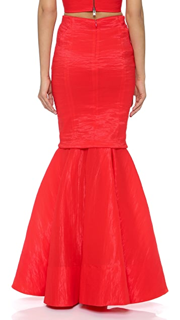 Donna Karan New York Evening Trumpet Skirt