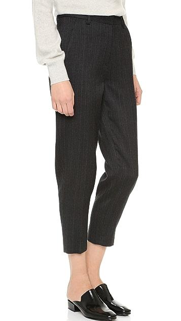 Donna Karan New York Menswear Creased Trousers