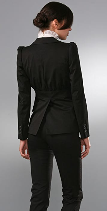 Derek Lam Two Button Fitted Blazer