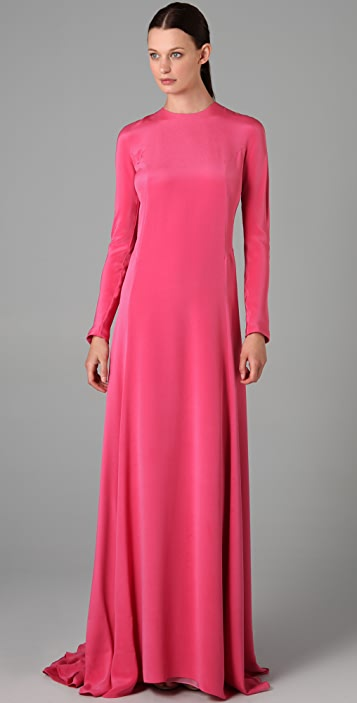Derek Lam Peplum Back Gown
