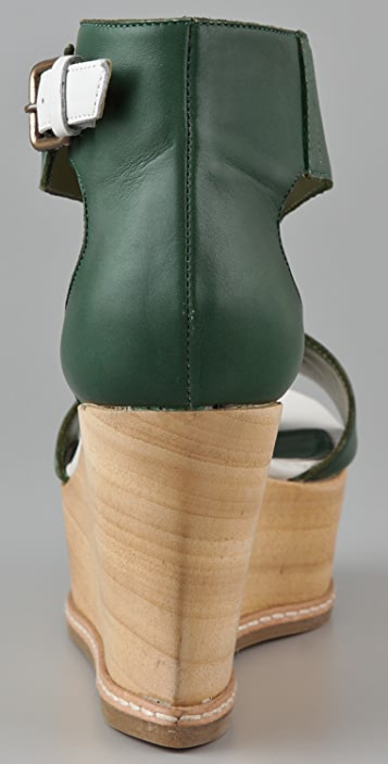 Derek Lam Mirte Ankle Cuff Flatforms