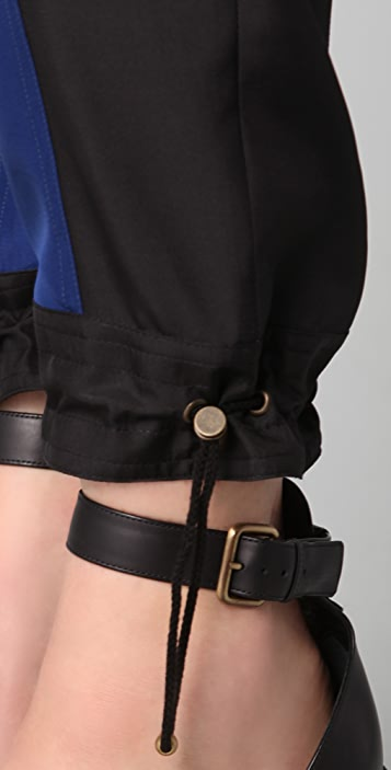 Derek Lam Bicolor Cropped Trousers