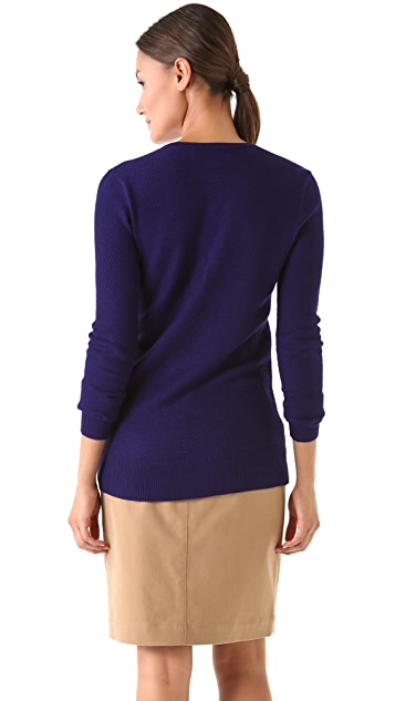 Derek Lam V Neck Cashmere Sweater