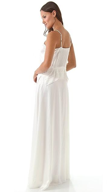 Derek Lam Spaghetti Strap Gown