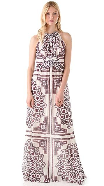 Derek Lam Halter Maxi Dress