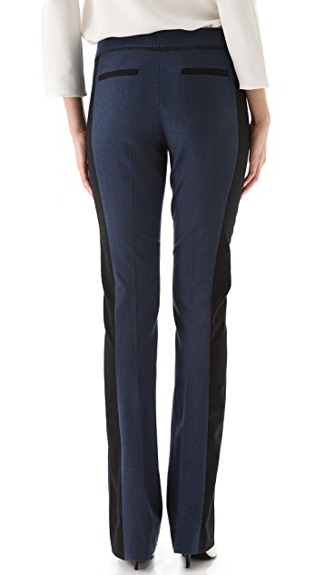 Derek Lam Black Stripe Trousers