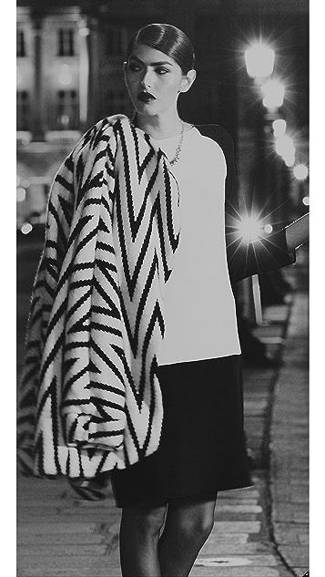 Derek Lam Two Tone Dress