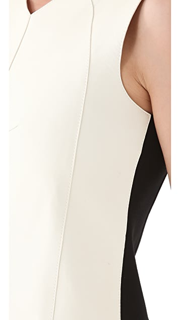Derek Lam Leather Shell