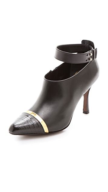 Derek Lam Devon Booties with Ankle Strap