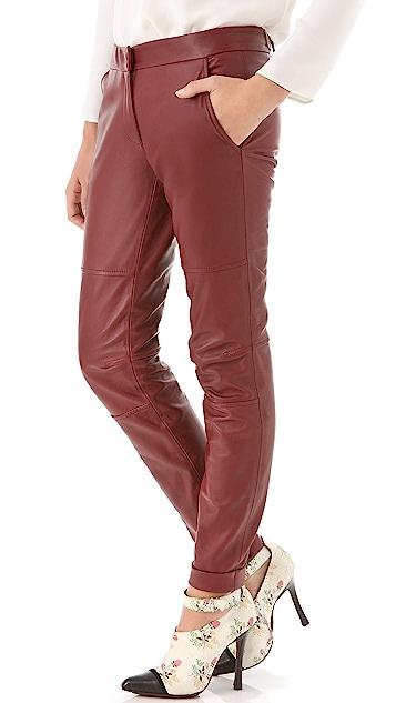 Derek Lam Leather Pants