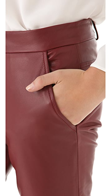 Derek Lam Leather Pants