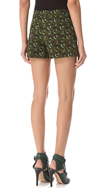 Derek Lam Graphic Seam Shorts